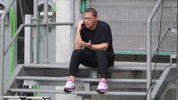 Gladbach-Manager Max Eberl wollte personell nachlegen