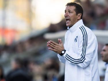 El técnico catalán del Real Madrid Castilla, Luis Miguel Ramis. (Foto: Imago)