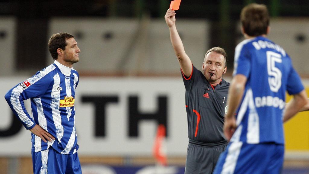 Lutz Wagner schickt Klimowicz zum vierten Mal vom Platz