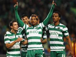 Nani (M.) ist bei Sporting eine Lichtgestalt - aber nicht der einzige Leistungsträger