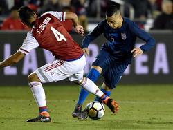Bobby Wood hat die USA zum Sieg gegen Paraguay geschossen