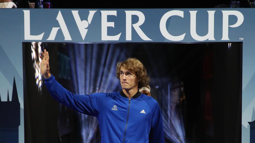 Schlägt beim Laver Cup für das Team Europa auf: Alexander Zverev