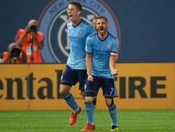 David Villa celebra su gol del empate contra los Red Bull. (Foto: Imago)
