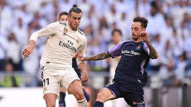 Gareth Bale und Real Madrid konnten drei Punkte in der Liga einfahren