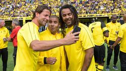 Mohamed Zidan (M.) traut BVB den Titel zu