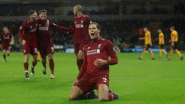 Der FC Liverpool bleibt in der Liga ungeschlagen