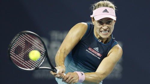 Angelique Kerber steht im Viertelfinale von Stuttgart