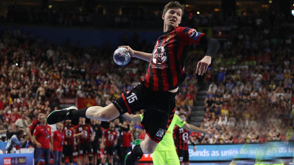 Christian Dissinger hat mit Vardar Skopje die Champions League gewonnen