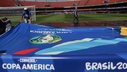 Die letzten Vorbereitungen für die Copa América laufen