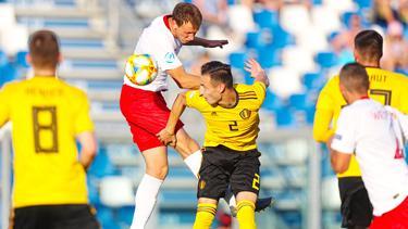 Polen schlägt Belgien bei der U21-EM