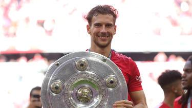 Leon Goretzka feierte zuletzt Pokalsieg und die Meisterschaft mit dem FC Bayern