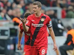 Lars Bender von Bayer Leverkusen will wieder für die DFB-Elf spielen
