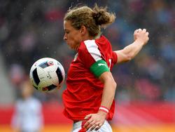 Nina Burger erzielte im letzten Test gegen Belgien einen Doppelpack