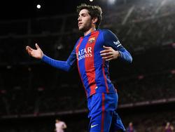 Sergi Roberto se despide de la temporada con el Barça. (Foto: Getty)