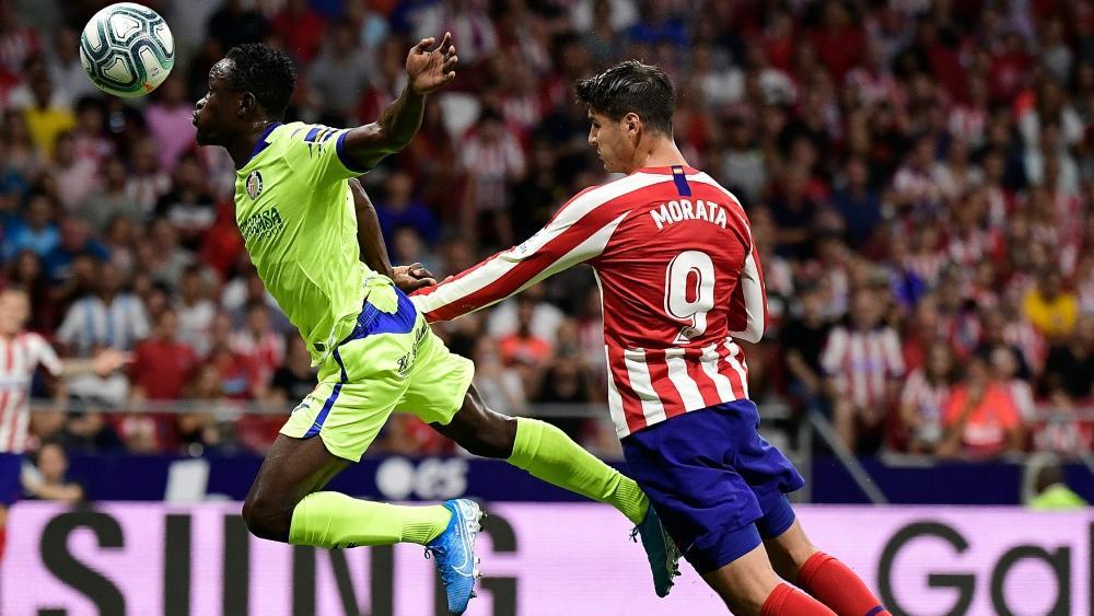 Alvaro Morata (r.) erzielte den Siegtreffer für Atletico