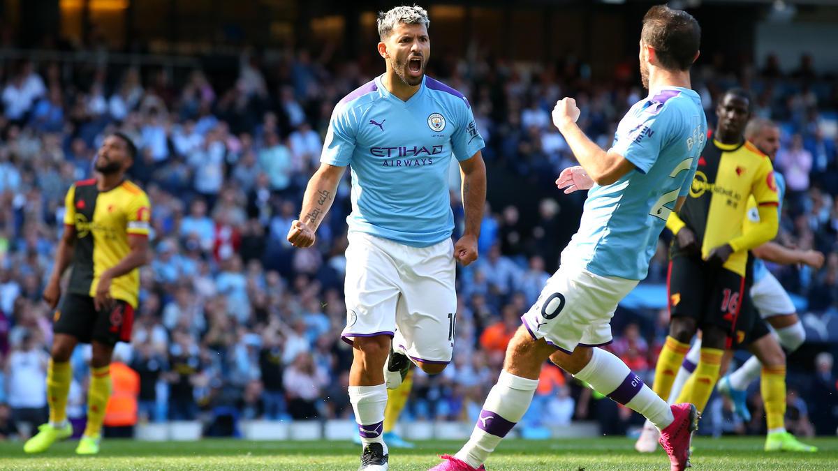 Manchester City feierte gegen den FC Watford einen Kantersieg