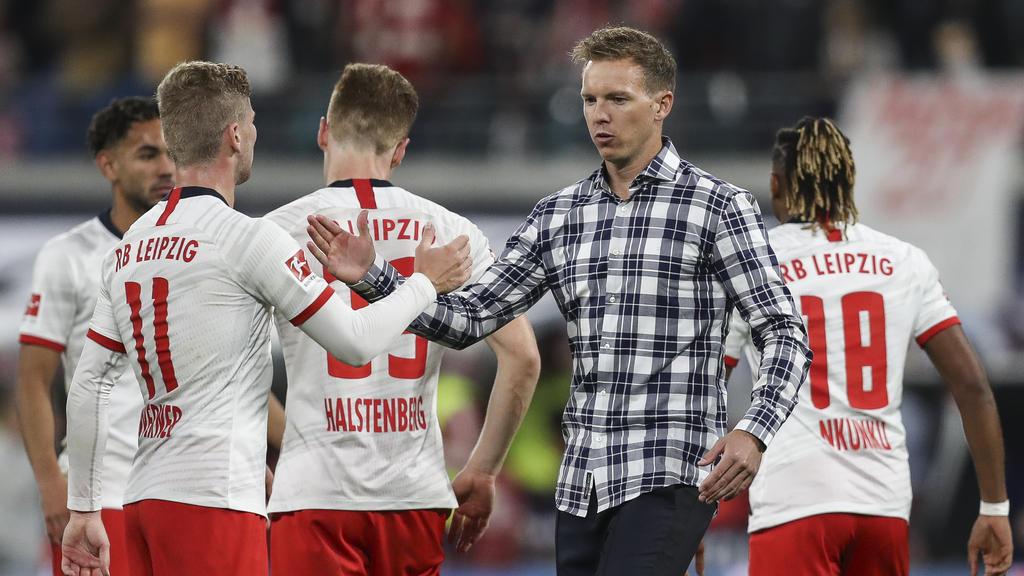Nagelsmann möchte mit RB die Gruppenphase überstehen