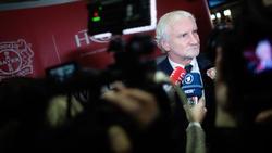 Rudi Völler kündigte an, den Rasen im Leverkusener Stadion auszutauschen zu wollen