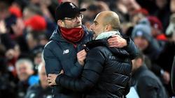 Jürgen Klopp setzte sich mit dem FC Liverpool gegen Manchester City durch