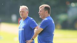 Bremser und Hecking trainieren seit Sommer den HSV