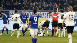 Alexander Nübel flog gegen Eintracht Frankfurt mit Rot vom Platz