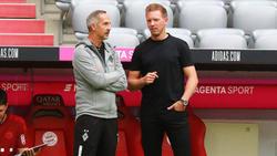 Julian Nagelsmann und der FC Bayern verloren auch die Partie gegen Gladbach