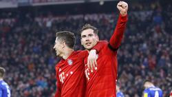 Leon Goretzka blüht beim FC Bayern aktuell auf