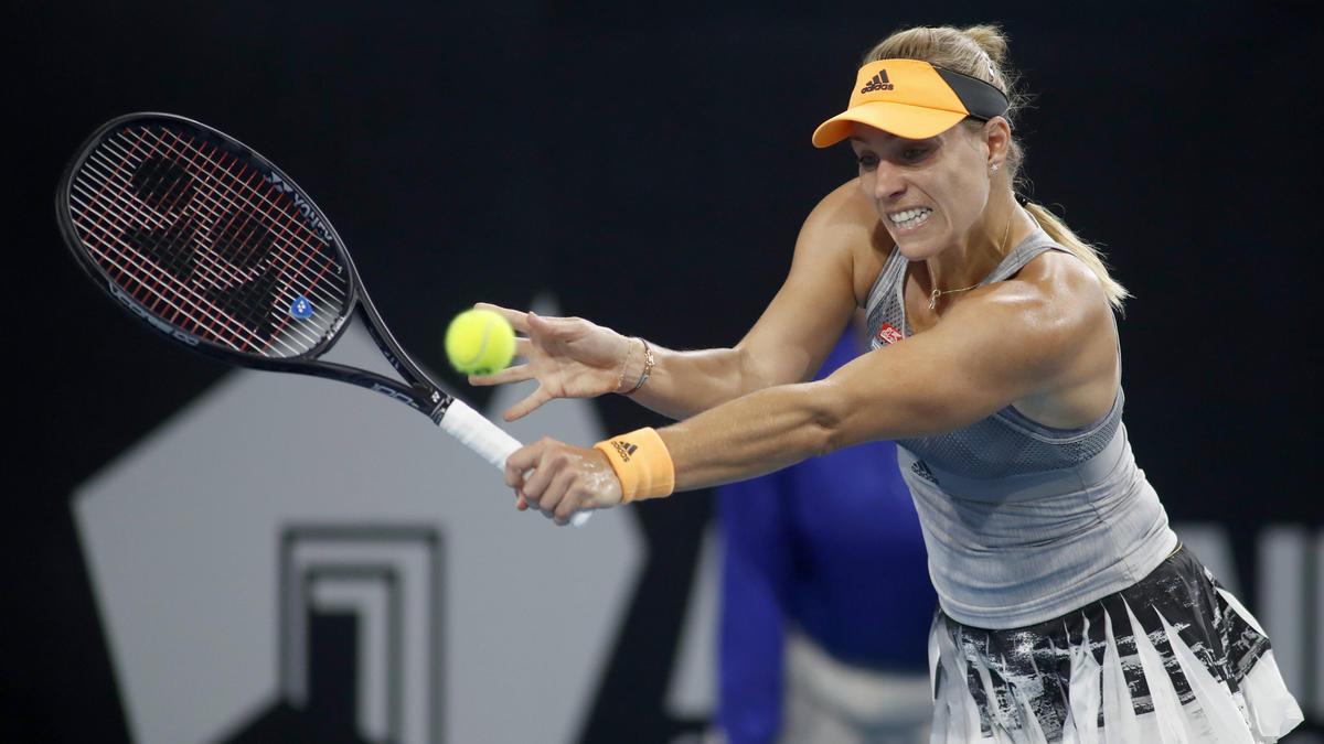 Angelique Kerber steht in Adelaide in der 2. Runde