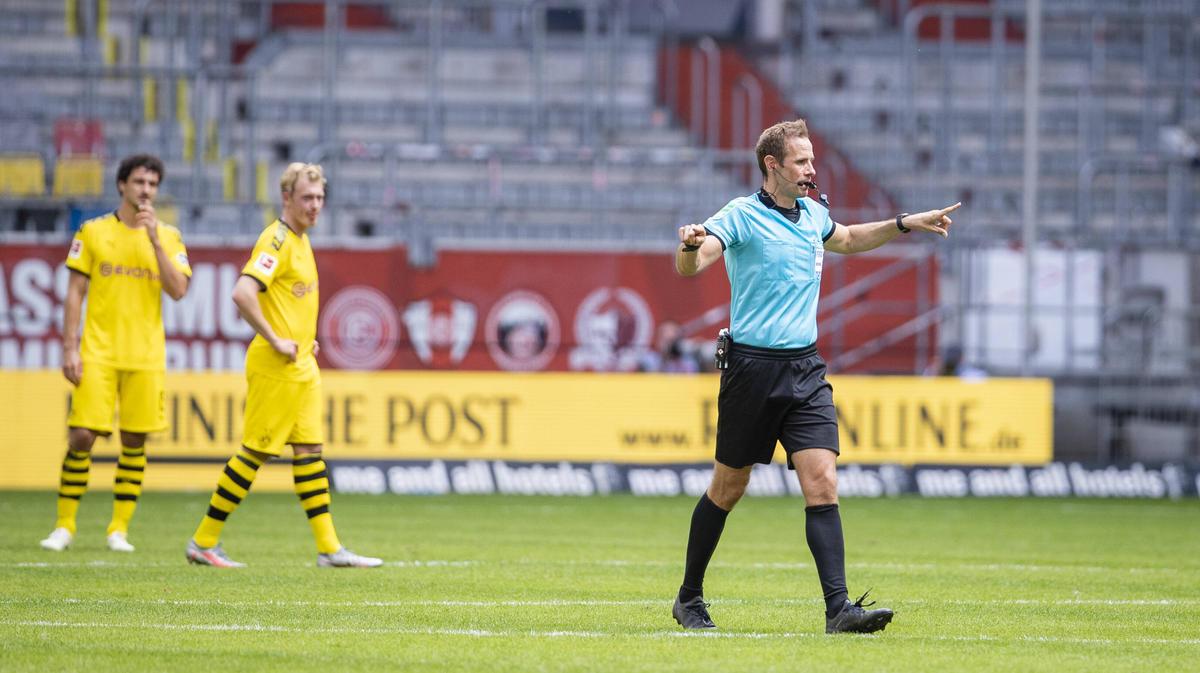 Dem BVB wurde ein Treffer wegen Handspiels aberkannt