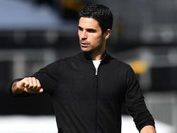 Mikel Arteta freut sich, dass wieder Zuseher beim Spiel dabei sind