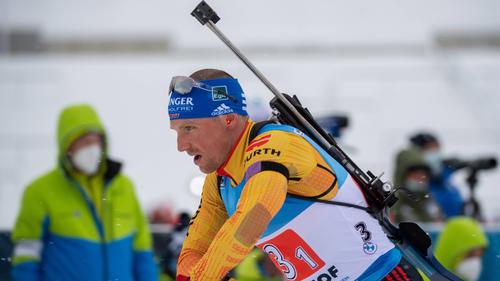 Erik Lesser zeigte in Oberhof eine gute Leistung