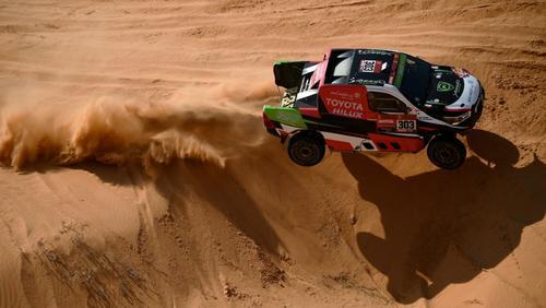 Dirk von Zitzewitz feierte einen Etappensieg bei der Rallye Dakar