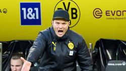Edin Terzic ist noch bis zum Saisonende Cheftrainer des BVB, danach arbeitet er als Co-Trainer unter Marco Rose