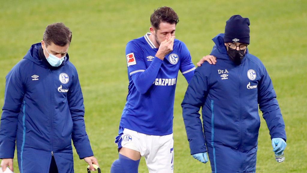 Mark Uth fehlt dem FC Schalke 04 noch mehrere Wochen