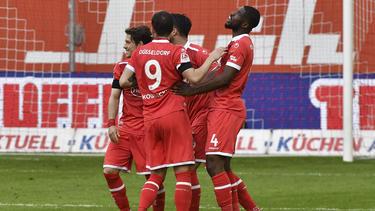 Fortuna Düsseldorf darf weiter auf den Aufstieg hoffen