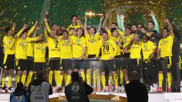El Dortmund es justo campeón de Copa de Alemania.