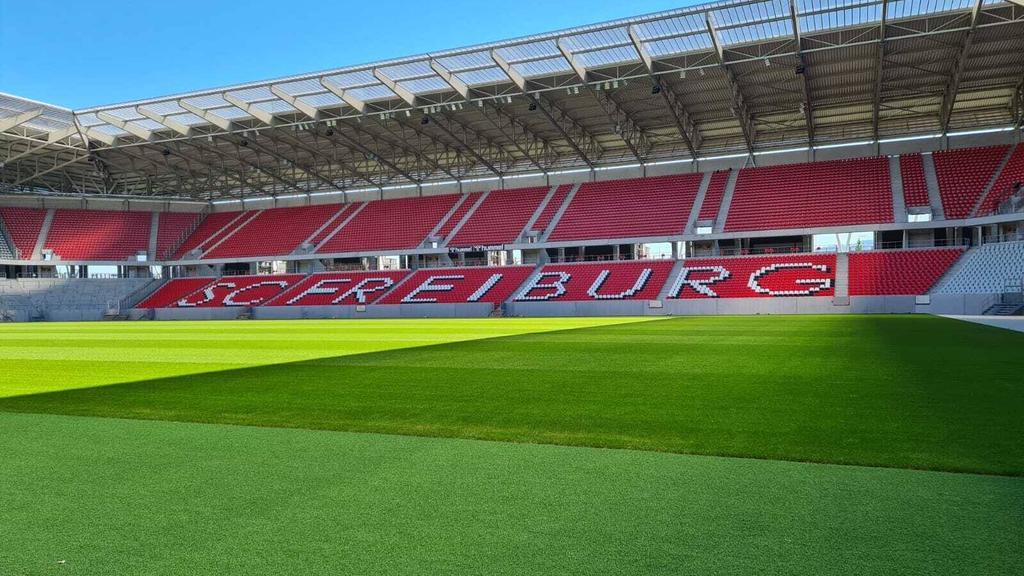Das neue Stadion des SC Freiburg trägt noch keinen Namen