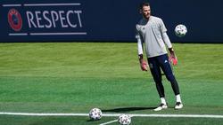 Spanien-Torwart De Gea musste das Training abbrechen