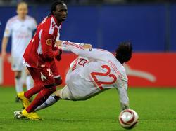 Europa League Viertelfinale zwischen Hamburg und Lüttich
