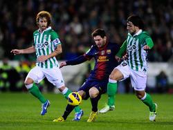 Auch gegen Betis der entscheidende Mann: Lionel Messi