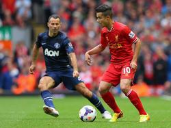 Coutinho (r.) spielt seit Anfang 2013 für den FC Liverpool