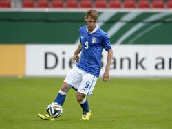 Valerio Rosseti, attaccante appena acquistato dalla Juventus