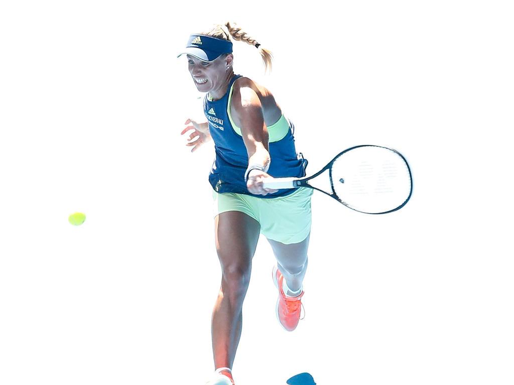 Angelique Kerber hat ein enges Match gegen Caroline Wozniacki verloren