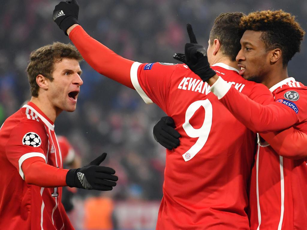 Bayern München fertigt Besiktas ab