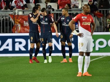 Die Pariser um Julian Draxler ließen Monaco im Ligapokal-Finale keine Chance