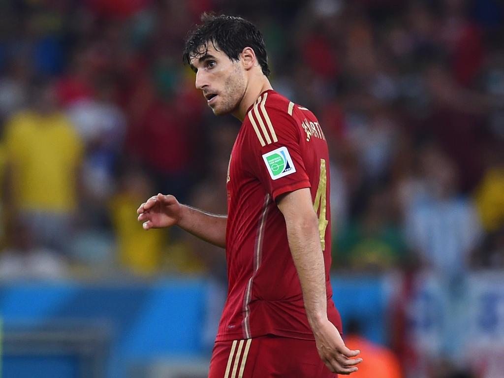 Javi Martínez bestritt sein letztes Länderspiel bei der WM 2014
