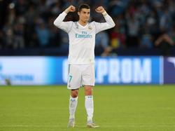 Ronaldo deja unos números apabullantes de blanco. (Foto: Getty)