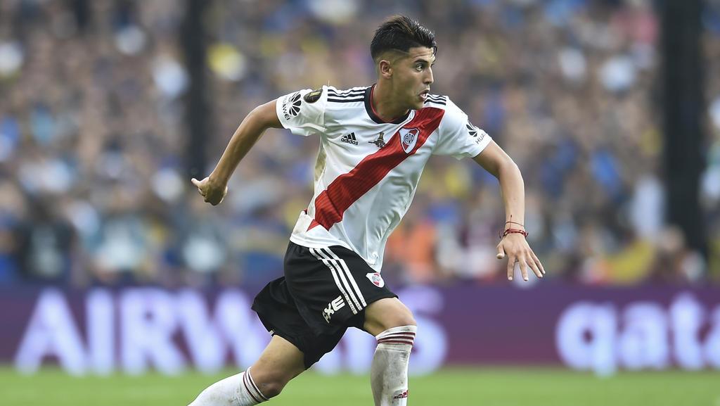Real Madrid verpflichtet angeblich Exequiel Palacios