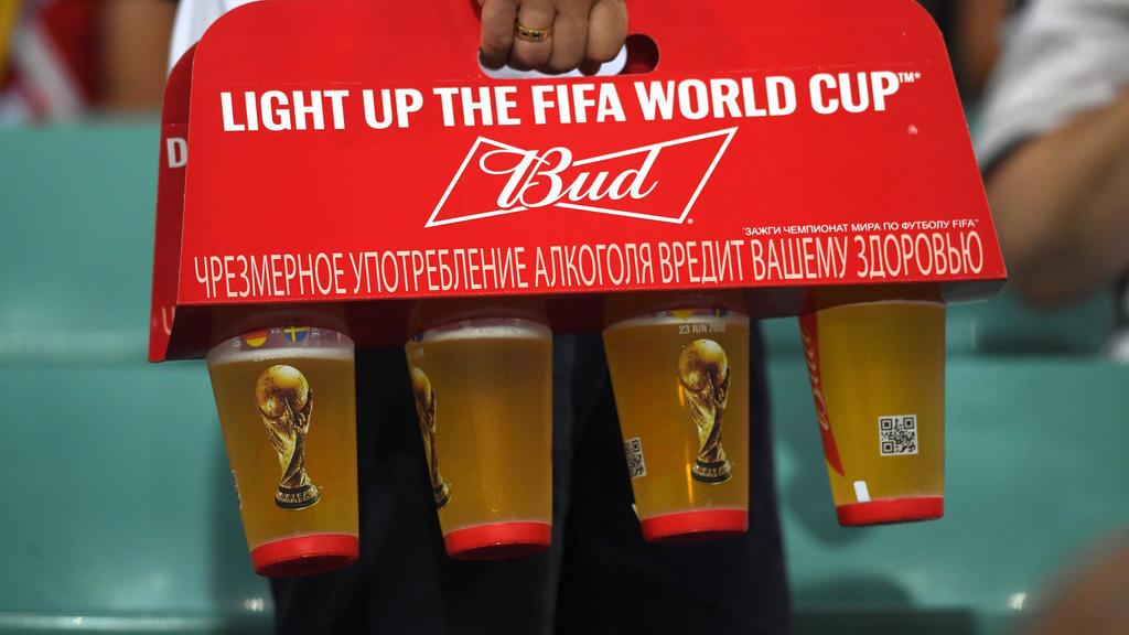 Der Bierkonsum wird bei der WM zum teuren Vergnügen