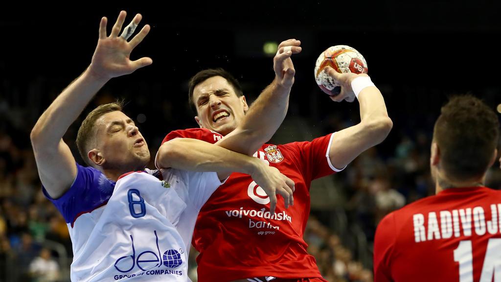 Serbien konnte Ex-Weltmeister Russland ein Unentschieden abkämpfen